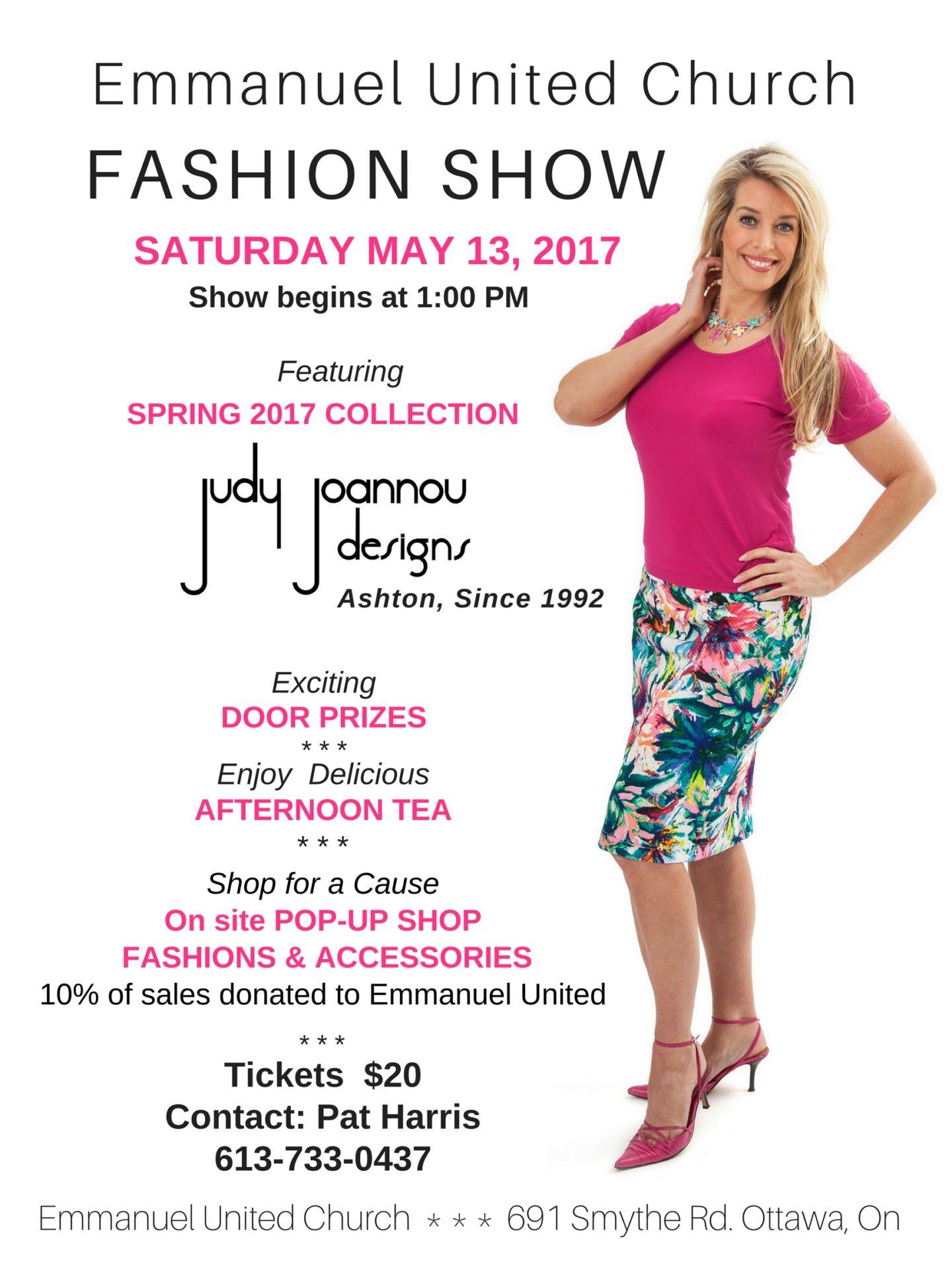 Church fashion show program 62